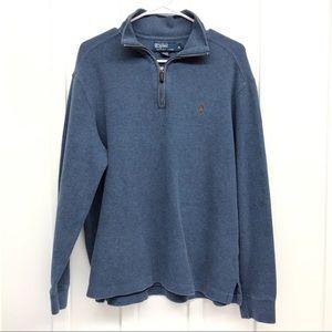Polo by Ralph Lauren Men's 1/4 Zip Pullover Size M